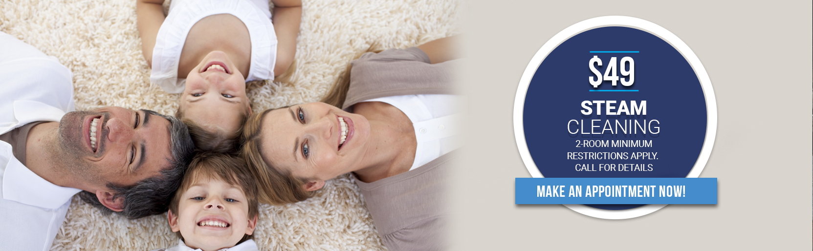 49 Dollar Carpet Cleaning Special